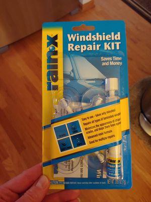 Photo NEW Rain X windshield repair kit