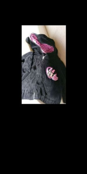 Photo Baby girl Disney Minnie Mouse jacket size 12 months