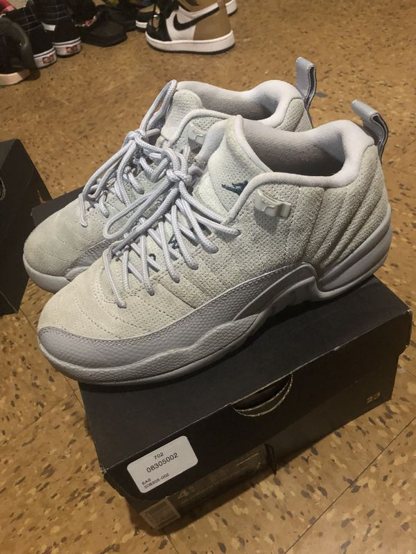 newest 8161e 68345 Jordan Low Wolf Grey 12s 4y for Sale in Richton Park, IL ...