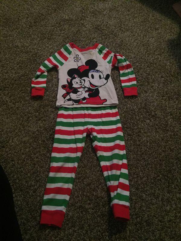 DISNEY store Christmas pajamas 3T