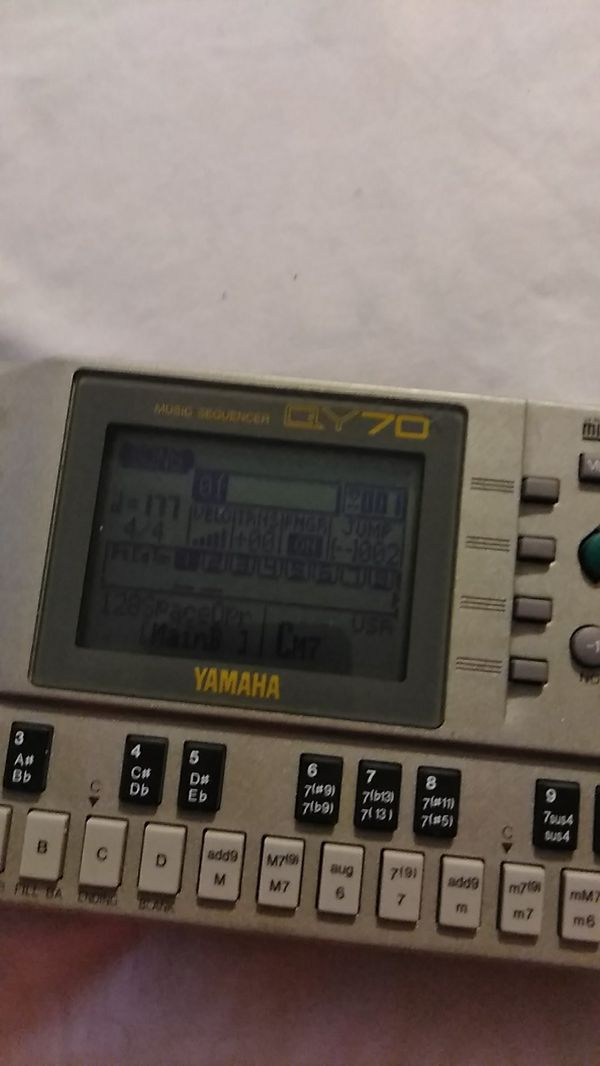 Music sequencer yamaha QY70  beat maker for Sale in Del Valle, TX - OfferUp