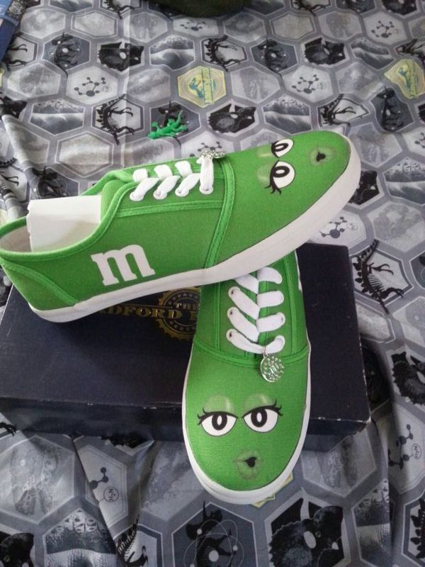 4ae044256c Green M M Sneakers from The Bradford Exchange (Clothing   Shoes) in  Raleigh