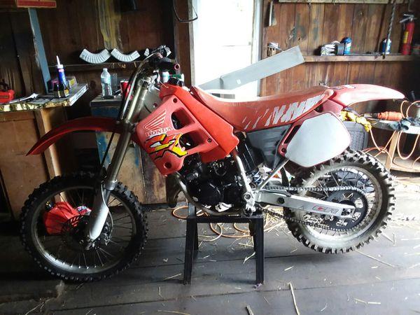 1991 honda cr125r 2 stroke dirtbike