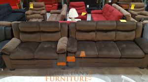Brand new brown microfiber sofa and love seat for Sale in Silver Spring, MD