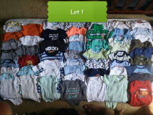53 newborn baby boy onesies for Sale in Frederick, MD