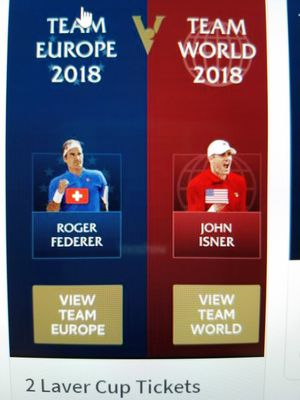 Laver Cup Tickets for Sale in Chicago, IL