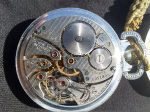 Photo Southbend antique pocket watch