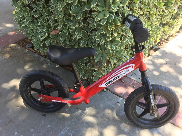 Strider St 4 Ducati No Pedal Balance Bike For Sale In Lake Forest