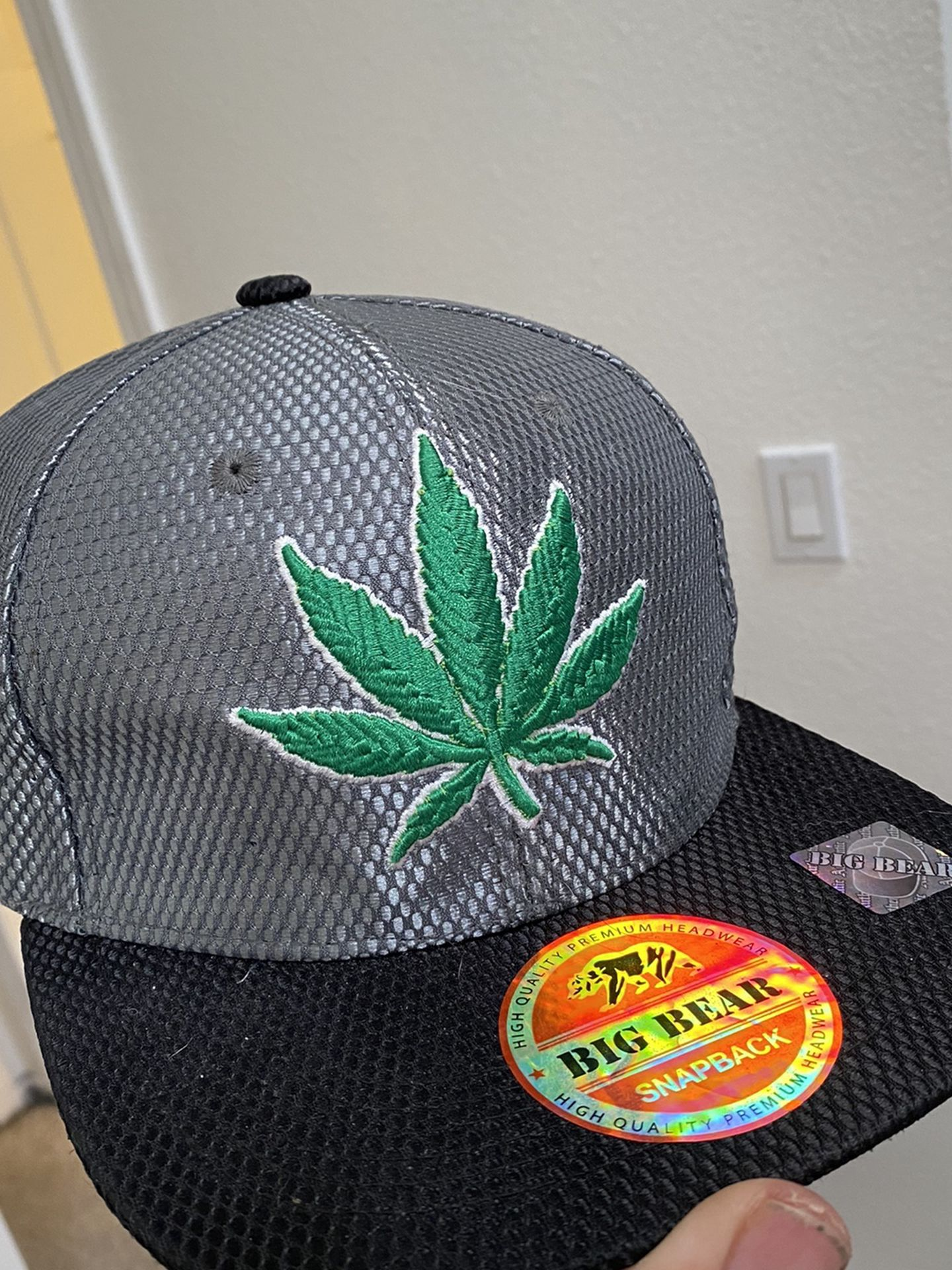 Big Bear Leaf Hat From The 4/20/14 Rally