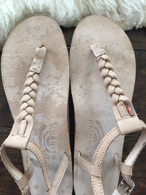 a20c2d52baf2 Rainbow Sandals in T-Street Single Layer Center Braid Ankle Strap for Sale  in Mountain