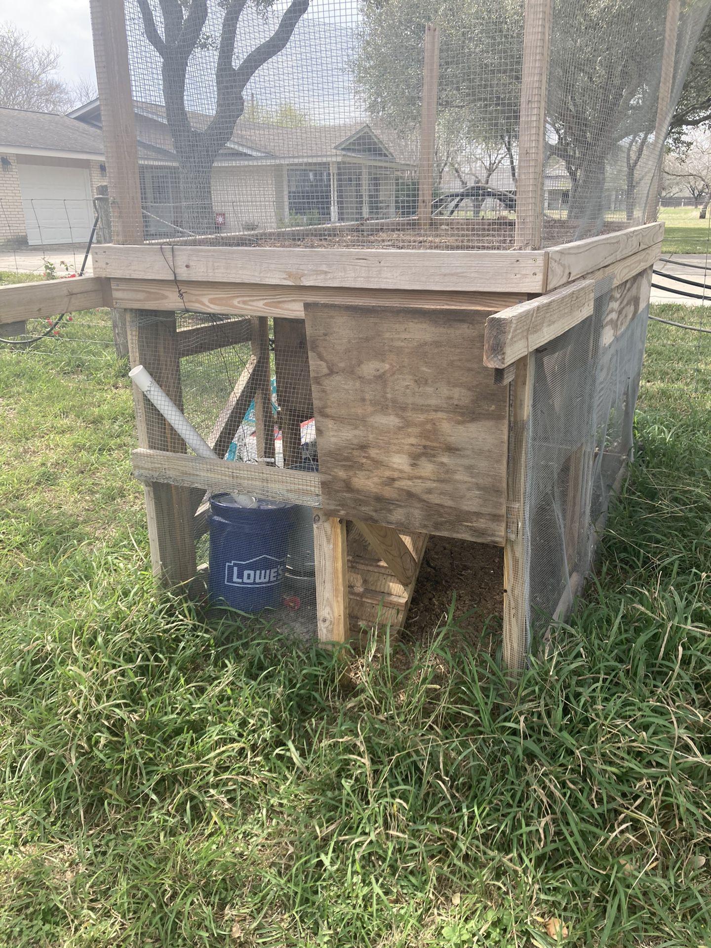 Custom Built 3 Story Chicken Lounge Lounge (Coop)