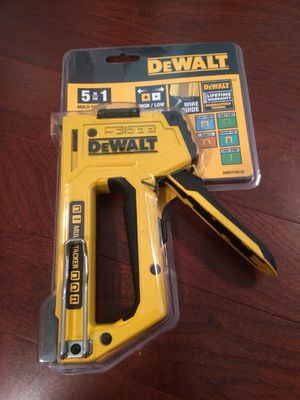 NEW Dewalt 5 in 1 staple gun for Sale in Gambrills, MD