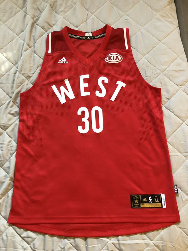 reputable site 78a14 c8a40 Golden State Warriors all star jersey Curry sz XL for Sale in Sunnyvale, CA  - OfferUp