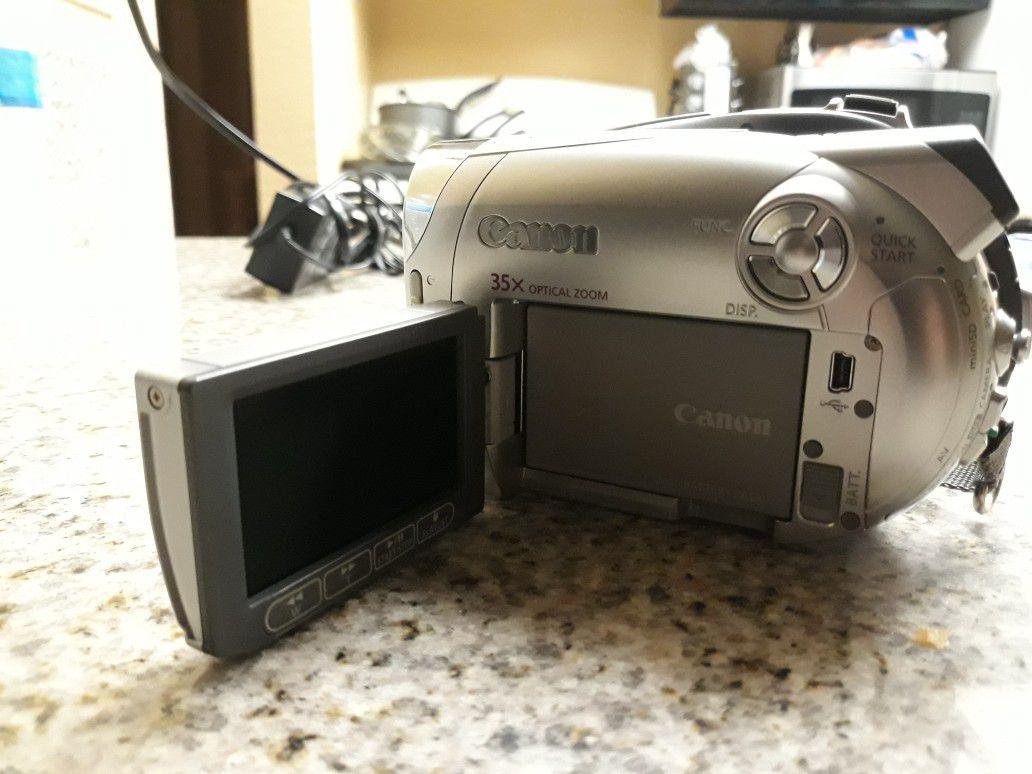 Video cámara canon DC220,