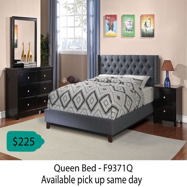 Queen Bed ( Available Pickup Same Day )