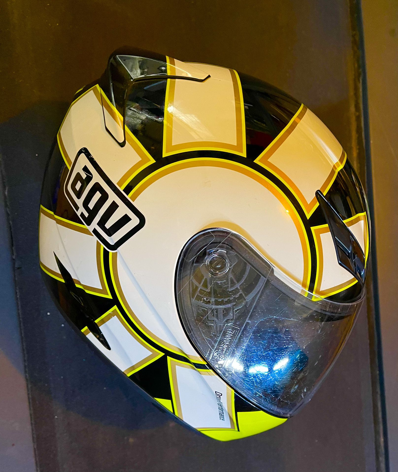 AGV Motorcycle Helmet Medium