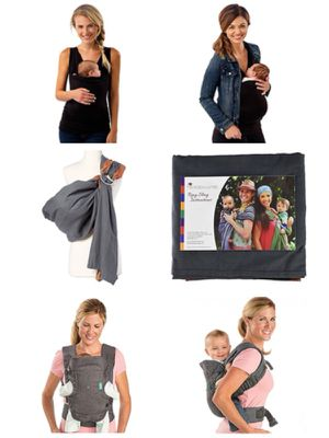 3 different carriers for baby-wearing! for Sale in Gaithersburg, MD