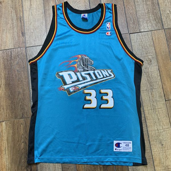 sports shoes afda8 30a05 Grant Hill Detroit Pistons Vintage Champion NBA Jersey Retro Throwback  Authentic 48 XL 90s for Sale in Woodbridge Township, NJ - OfferUp