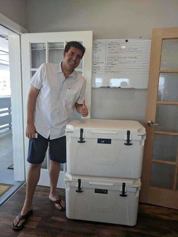 Roadtrip👍👍kuta Rotomolded Coolers Is Readyforanything For