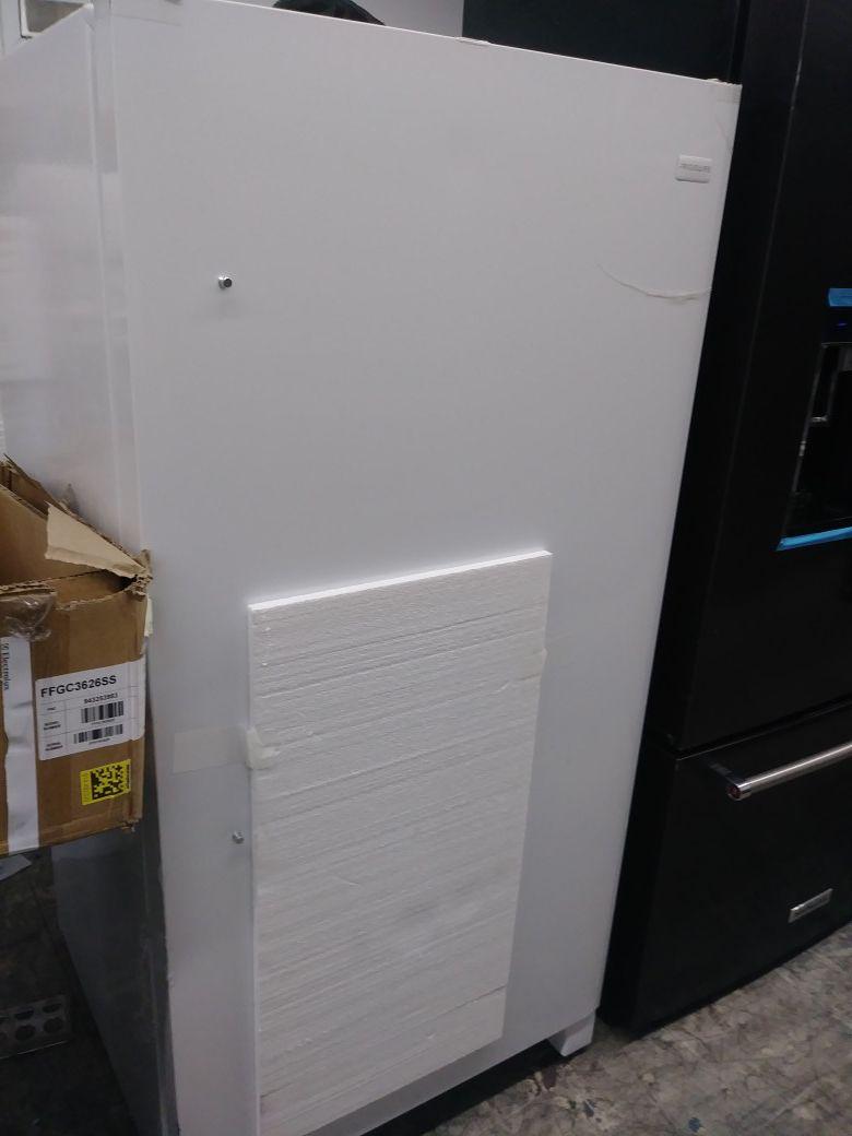 Frigidaire upright freezer in White