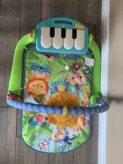 fisher-price kick and play piano gym Thumbnail