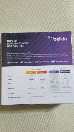 Belkin WiFi USB Adapter N600 Thumbnail
