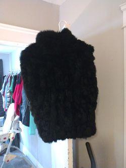 Fur Vest Size Small Thumbnail