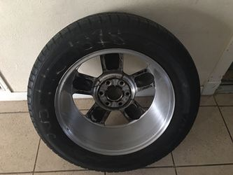 """20"""" Rims and tires just had the Rims refinish the tires or 3month old but will Negotiate price Thumbnail"""