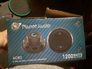 Photo 1200 watts planet audio 8in subwoofer