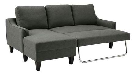 Jarreau Gray Sofa Chaise Sleeper Couch Sofa Thumbnail