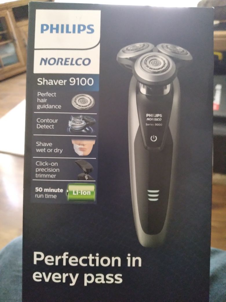 Phillips norelco 9100 shaver