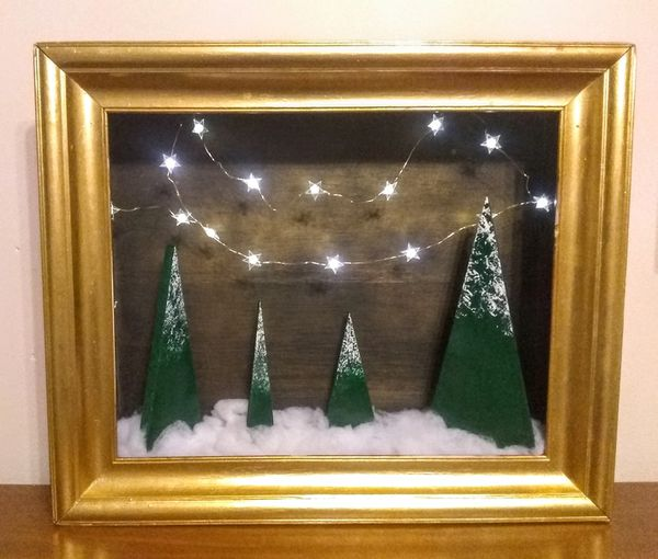 Winter wonderland shadow box for Sale in Menges Mills, PA - OfferUp
