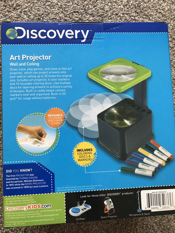 discovery kids art projector for sale in marietta ga offerup
