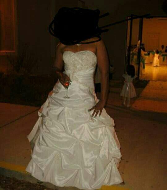 Wedding Dress Side 14 Davids BridalWe Can Work On The Price Make Me A Offer For Sale In Jacksonville FL
