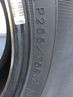 Goodyear Wrangler GS-A  LT255/80R17 Thumbnail