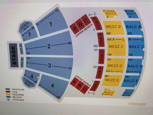 4 John Legend Tickets Palace Theatre Columbus MFLR 3 Row K for Sale in Columbus, OH