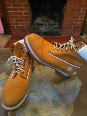 Men's Timberland boots sz 12 for Sale in Rustburg, VA