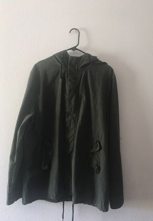 21 MEN forest green winter JACKET SIZE LARGE for Sale in Fontana, CA