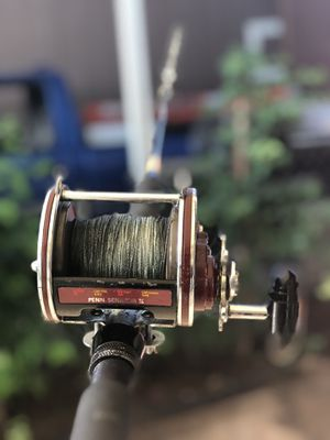 Fishing pole and reel for Sale in Hawthorne, CA