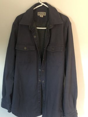 Photo Duluth Trading Gray Firehose Canvas Midcoat