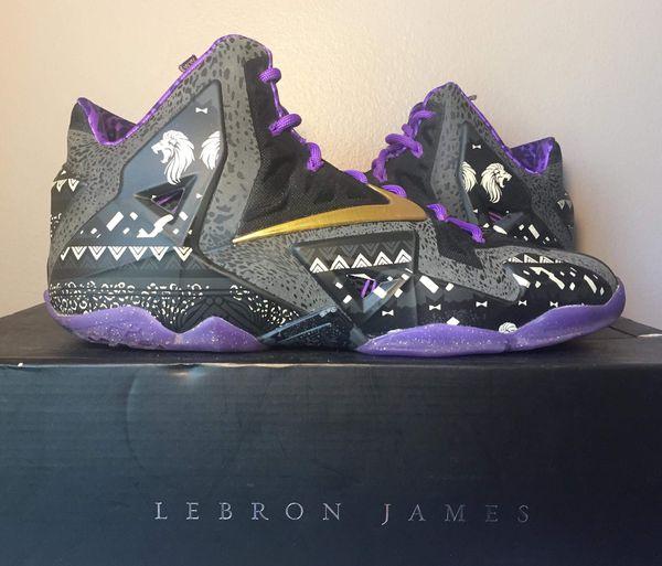 "size 40 e3f92 65d51 Nike LeBron 11 ""BHM"" for Sale in Elmhurst, IL - OfferUp"