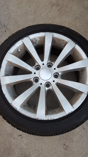 Photo Bmw tires and wheels 17 inch
