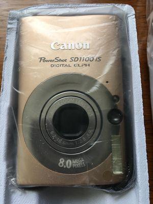 Canon Sd1100 IS 8mp Power Shot Digital ELPH for Sale in Midlothian, VA