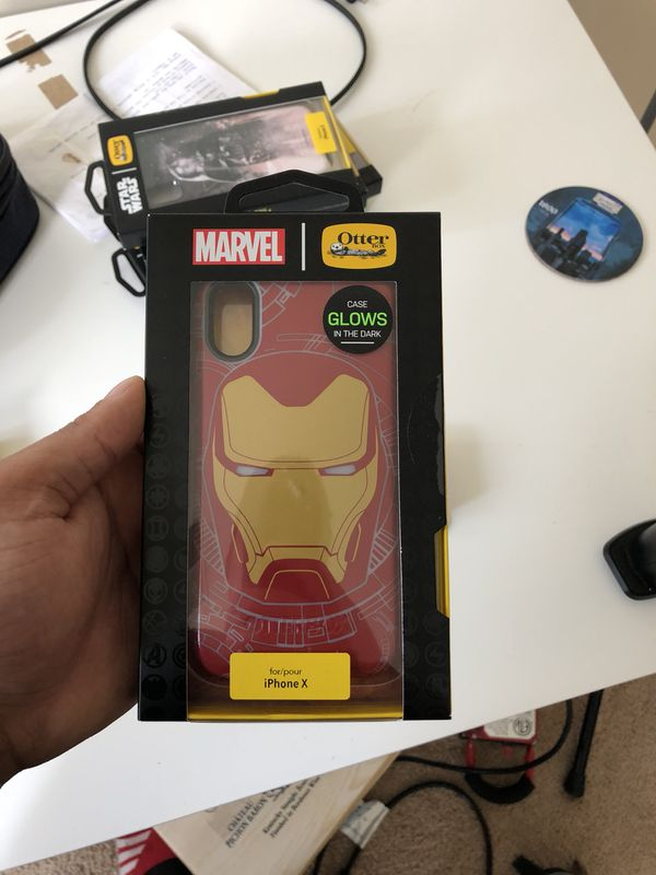 cheaper 0bbae 7d206 Otterbox Iron Man Case iPhone X for Sale in Woodbridge, VA - OfferUp