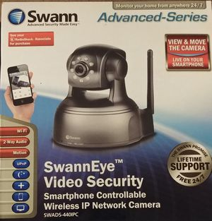 New SwannEye Security Camera- SWADS-440IPC for Sale in Germantown, MD