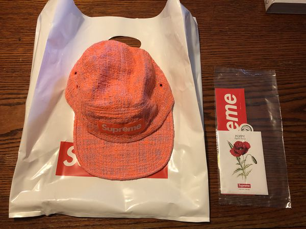 Supreme Camp Cap Coral Ss18 Brand New For Sale In Tampa Fl