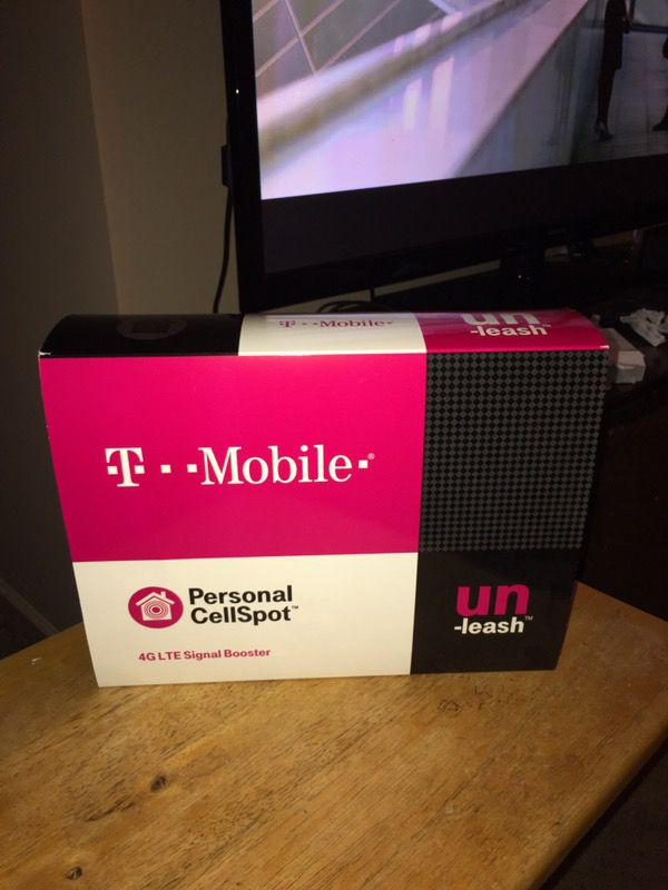 T-Mobile Personal Cellspot 4H LTE Signal Booster Nxt Cel-fi-d32-24 for Sale  in Belleville, IL - OfferUp