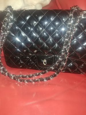 6fcc121d5523 Chanel Patent Leather Double flap bag for Sale in Newark, CA