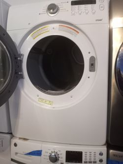 MIX AND MATCH GE FRONT LOAD WASHER AND SAMSUNG DRYER SET WORKING PERFECT W/4 MONTHS WARRANTY Thumbnail