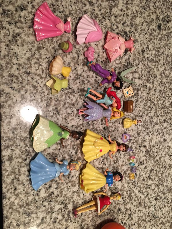 Polly Pockets For Sale: Disney Princess Polly Pockets For Sale In San Antonio, TX